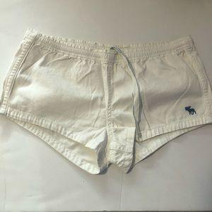 NWT Abercrombie White Utility Shorts